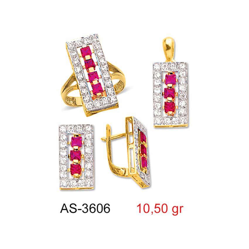 Jewelry Sets- COLORED MINI SET -1 AS-3606