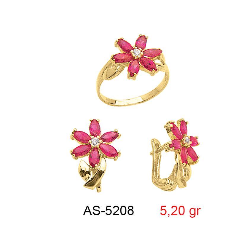 Jewelry Sets- COLORED MINI SET -1 AS-5208