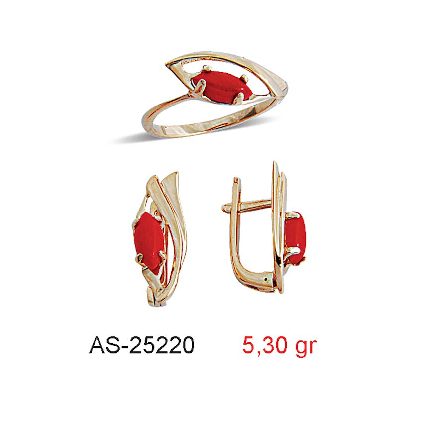 Jewelry Sets- CORAL MINI SET  AS-25220