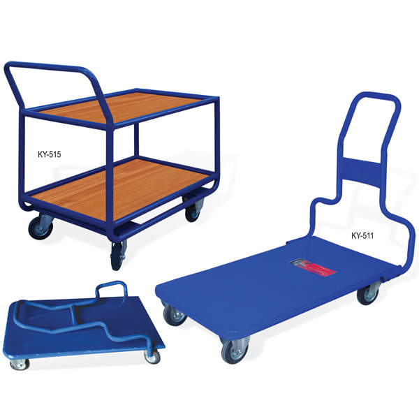 KANAT 4 WHEEL CARRYING TROLLEYS Other Construction & Real Estate