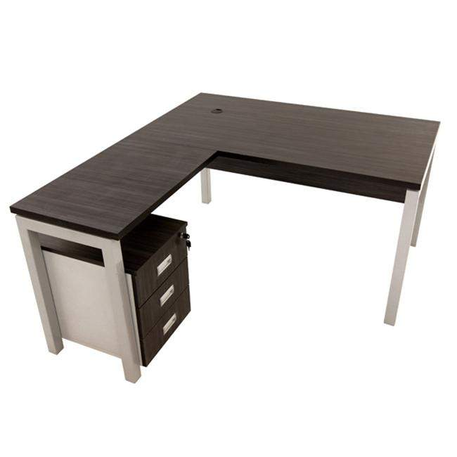 KOÇ office desk IKON CODE 10 L TYPE MELAMIN WORKING TABLE Office Desks
