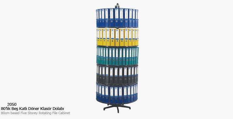 KOÇ office filing cabinet Five-Storey Rotary Folder Cabinet Filing Cabinets