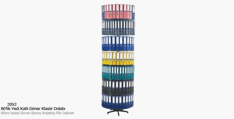 KOÇ office filing cabinet Seven Storey Rotary Folder Cabinet Filing Cabinets