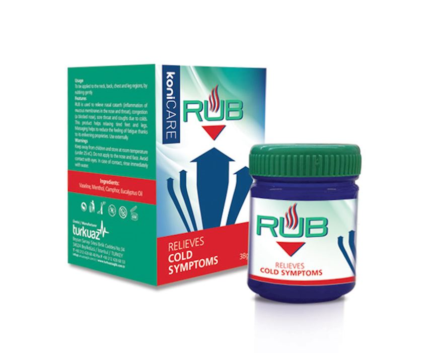 Konicare Rub Putty for Colds Medicines