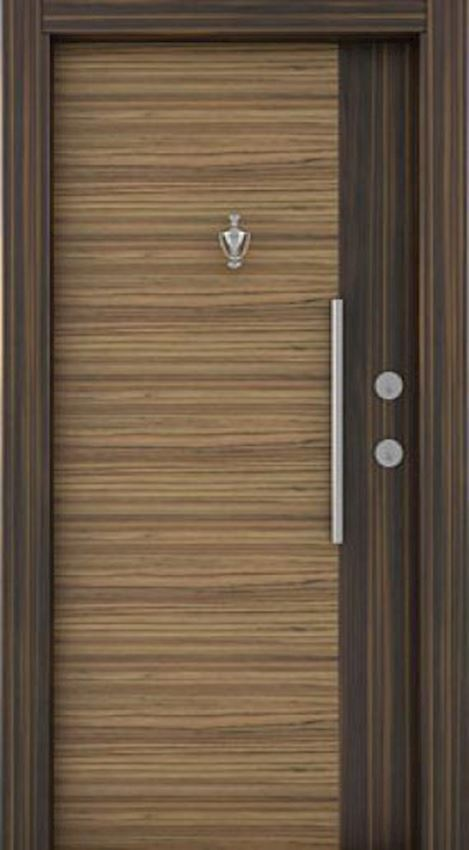 laminated steel doors Laminate Luxury Door Ebony Sambesi