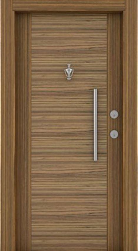 laminated steel doors Laminated Steel Door Zebrano sambesi