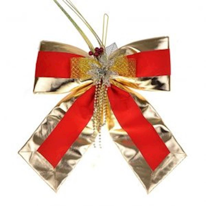Large Bow Christmas Door Ornament 40cm Christmas Decoration Supplies