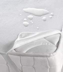 Liquid-proof mattress protectors