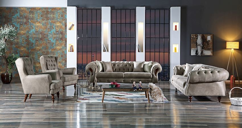 Living Room Sofas CHESTER CHAIR 101-03