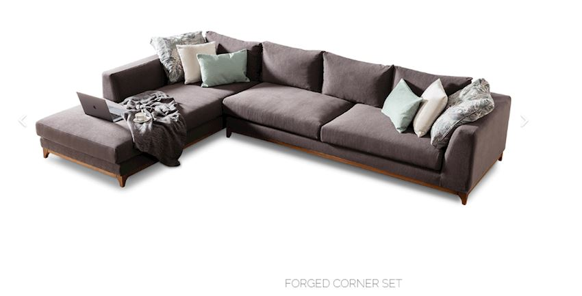Living Room Sofas FORGED CORNER SET