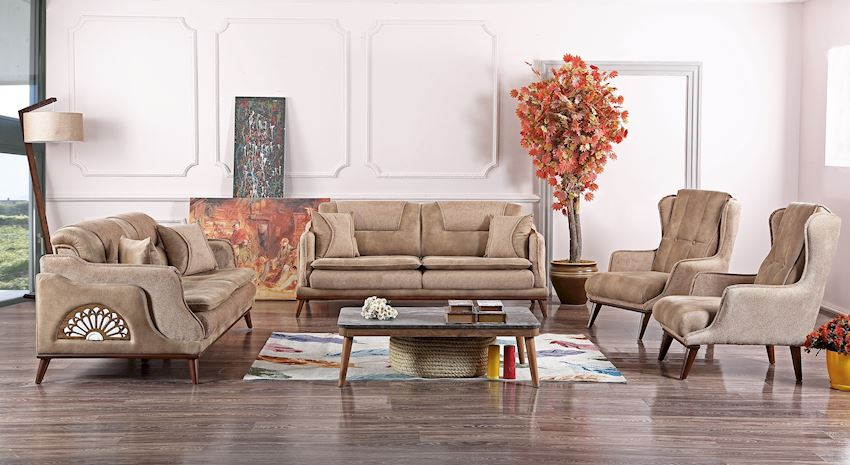 Living Room Sofas NATURAL CHAIR 106-03