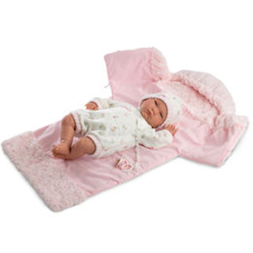 Llorens Lala Llorona Saquito Cambiadora Rosa Voice 42cm Other Baby Toys