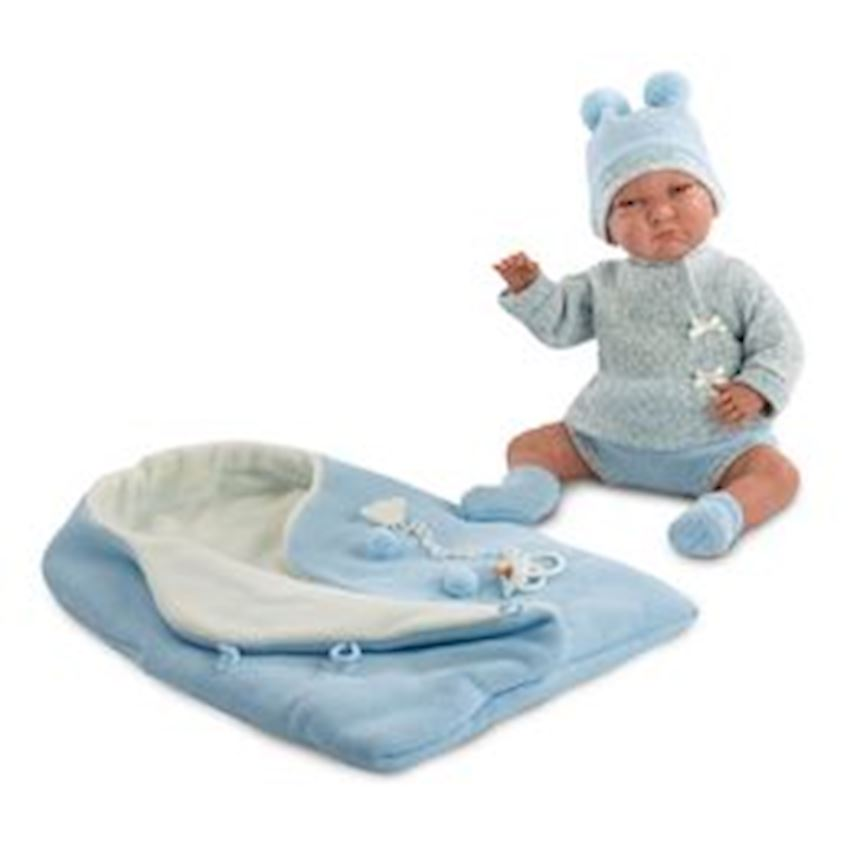 Llorens Lalo Llron Saquito Rosa Voice 42cm Other Baby Toys