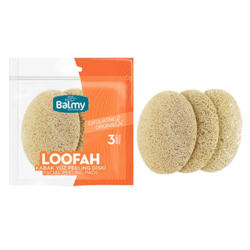 Loofah Face Peeling Disc (3 Pack) Bath Brushes, Sponges & Scrubbers