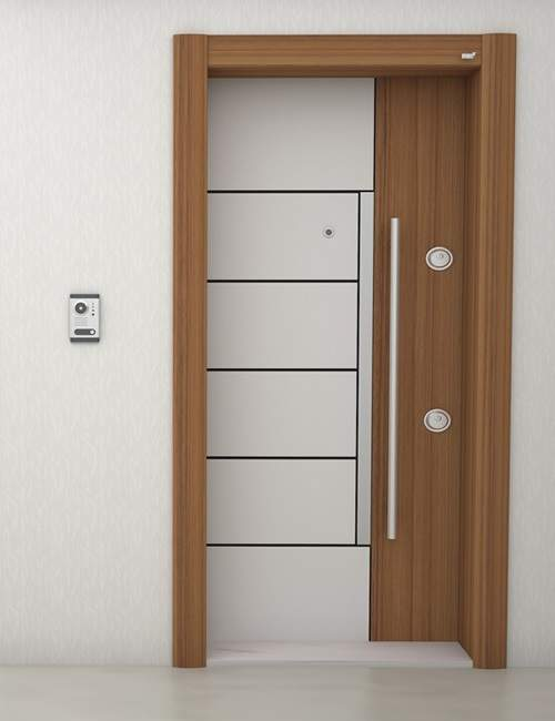 Luxury design high quality steel door