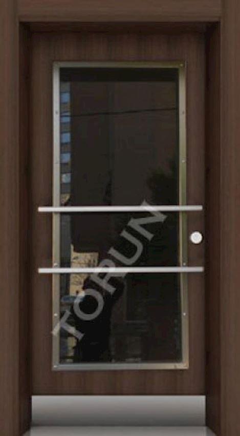 Luxury Steel Doors Glass Door