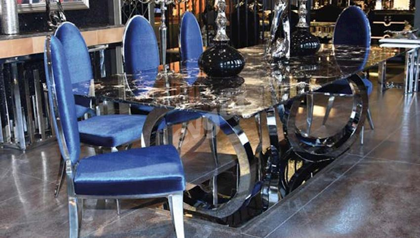 MAGERA METAL DINING TABLE