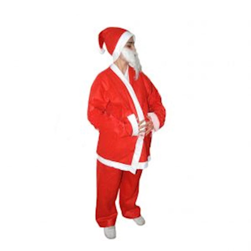 Male Santa Claus Outfit Christmas Decoration Supplies