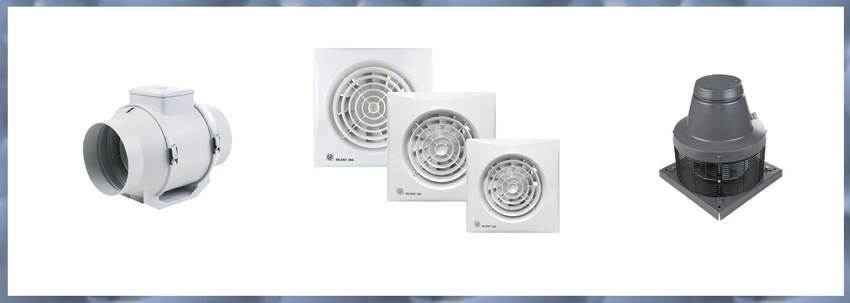 MECHANICAL INSULATION AND VENTILATION MATERIALS (FANS)