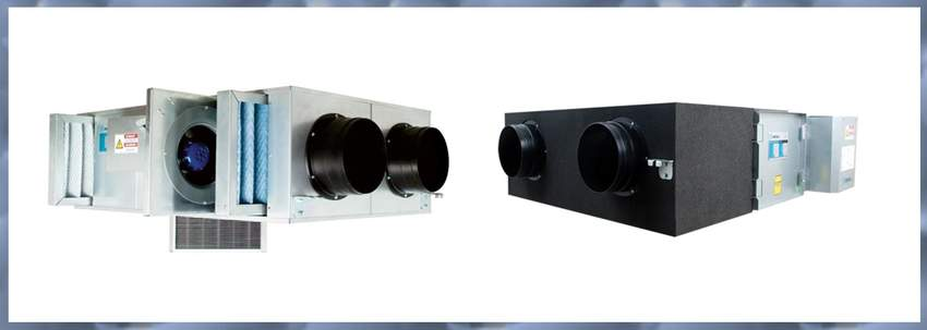 MECHANICAL INSULATION AND VENTILATION MATERIALS (HEAT RECOVERY UNITS)