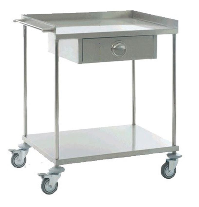 MEDICAL GROUP INSTRUMENT TABLE- WITH DRAWERS
