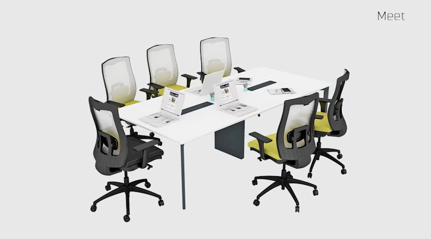 Meet Conference Table Office Meeting Room Table