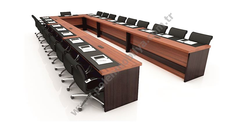 Meeting Table for 19 people: 720x240x75h