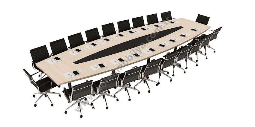 Meeting Table for 20 people: 720x150x75h