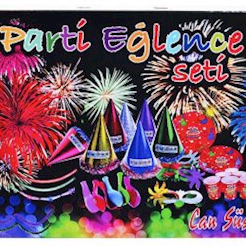 Mega Party Entertainment Set for 12 People 114 Pieces Event & Party Supplies