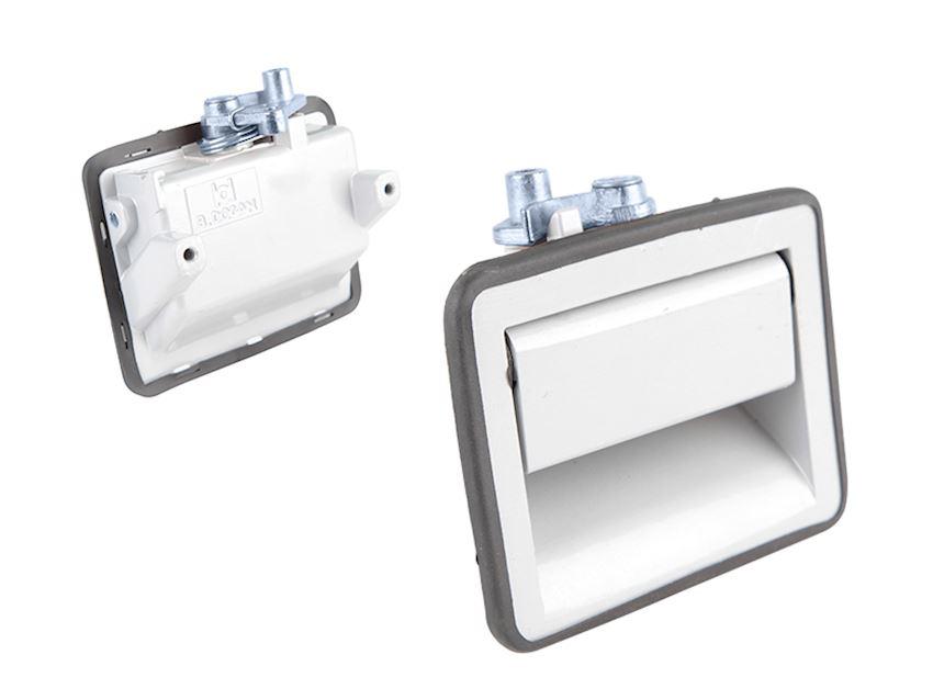 MERCEDES V6-V8 LUGGAGE HANDLE WITHOUT DOWEL (METAL