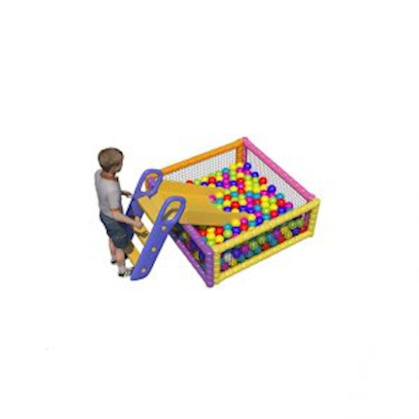 Metal Ball Pool 130x130x50 cm Amusement Park