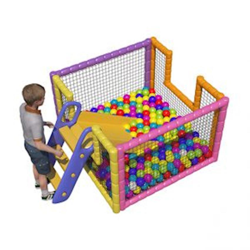 Metal Ball Pool 175x175x100 cm Amusement Park
