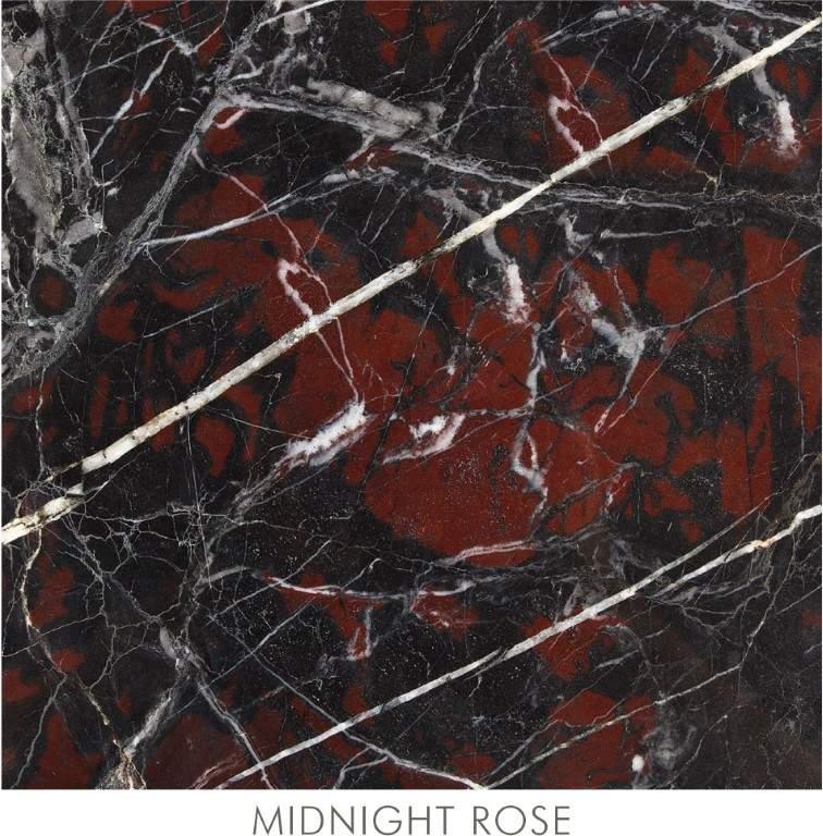 Midnight Rose Marble Stone