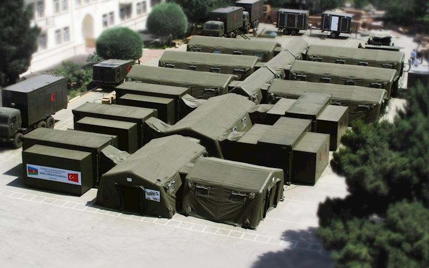 Military Tent / Camp Air Conditioning