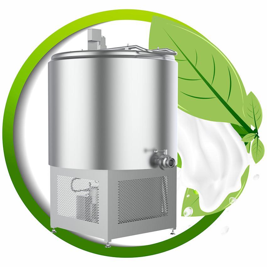 Milk Cooling Tank - Vertical Model - Bottom Group - PHS