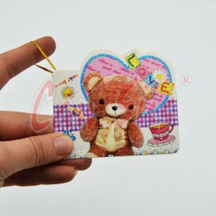Mini Gift Note Card with 10 Teddy Bear Event & Party Supplies