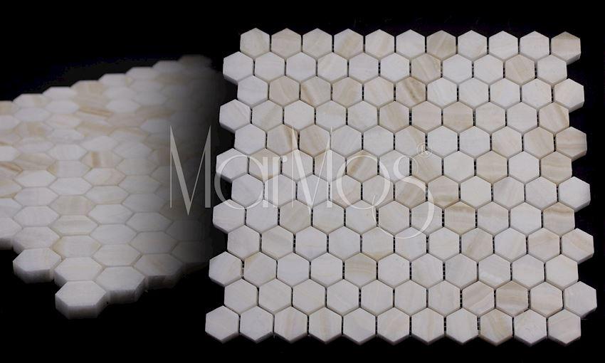 Mini Hexagon Akdag Onix Marble Stone