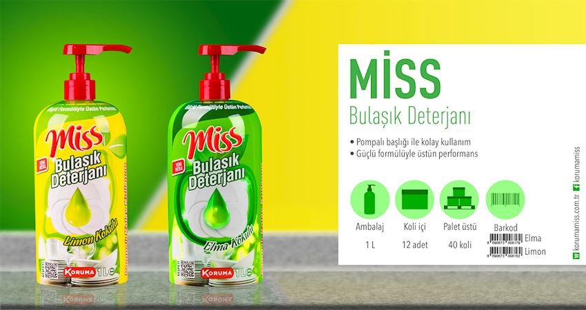 Miss Dishwashing Detergent Cleaning Detergent