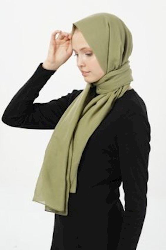 MODGREY Pratic Shape Khaki Silk Shawls