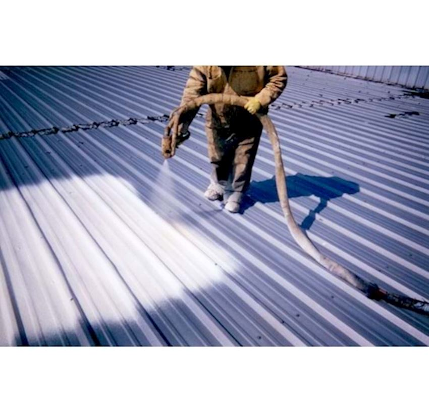 Molümer 603 Water Based Heat Insulated Trapezoidal Sheet And Construction Paint - White - 3,5 Kg Paints & Coatings