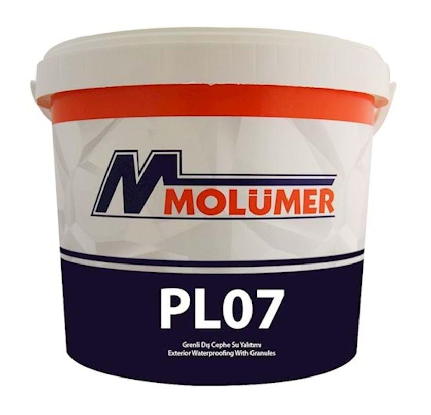 Molumer Pl07 Grainy Exterior Waterproofing - White - 3,5 Kg Waterproofing Materials
