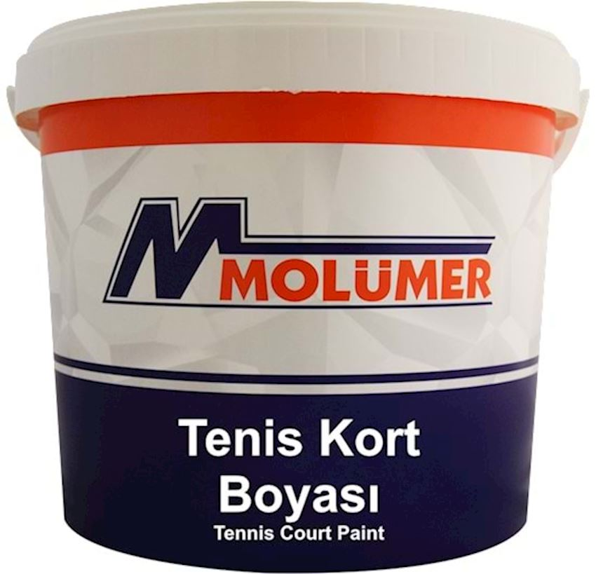 Molumer Tennis Court Paint - Red - 20 Kg Paints & Coatings