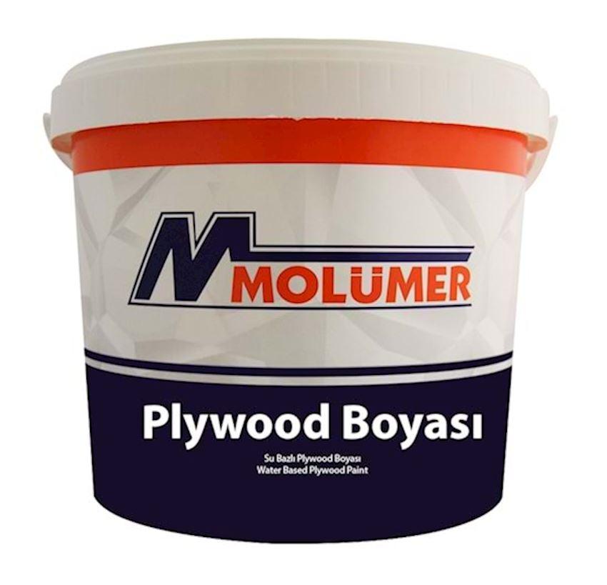 Molumer Water Based Plywood Paint Brown 5 Kg Paints & Coatings