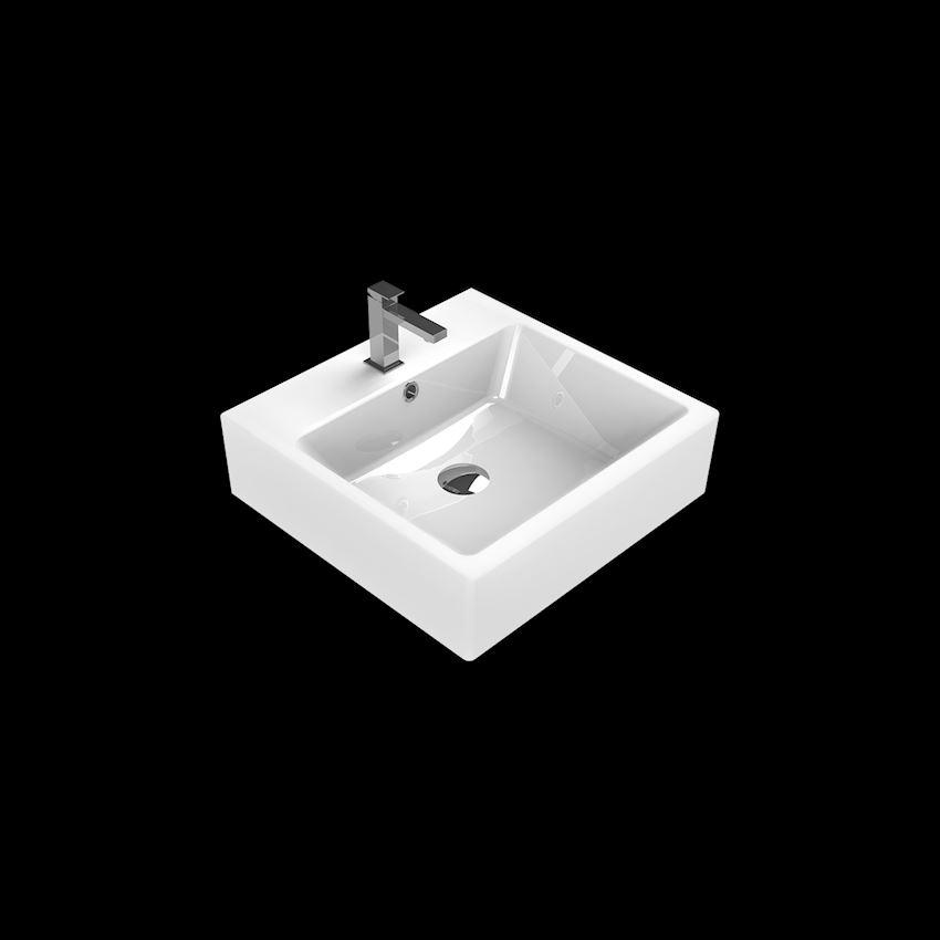 Mona D Washbasin, 48 cm Bathroom Sinks