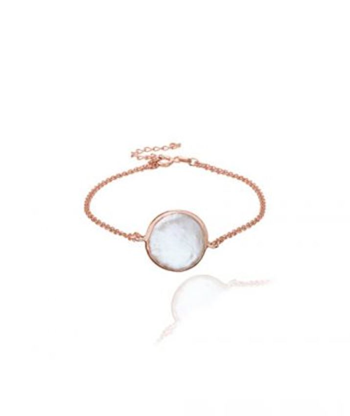 Mother of Pearl Bracelet, White