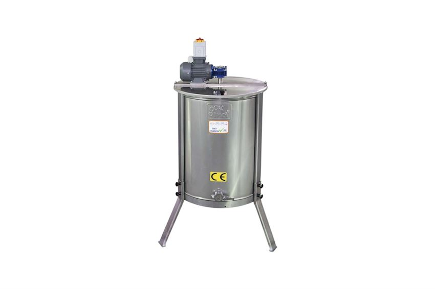 Motorized Honey Extractor (4 Frames) - Stainless Steel (304 Quality)