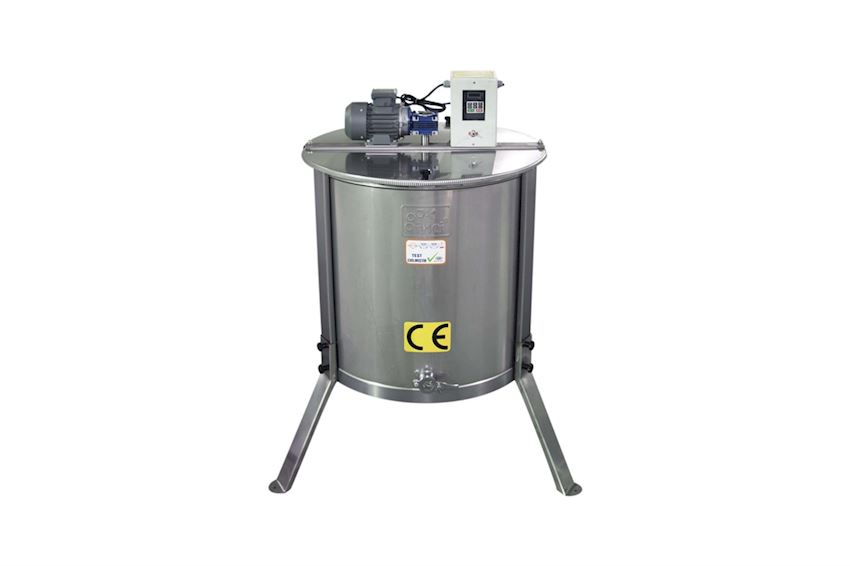 Motorized Honey Extractor (6 Frames) - Stainless Steel (304 Quality)