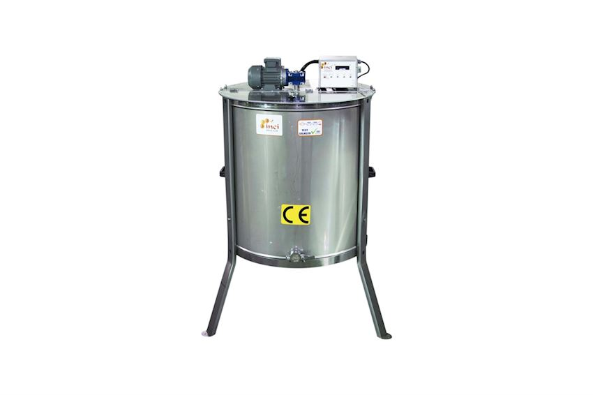 Motorized Honey Extractor (8 Frames) - Stainless Steel (304 Quality)