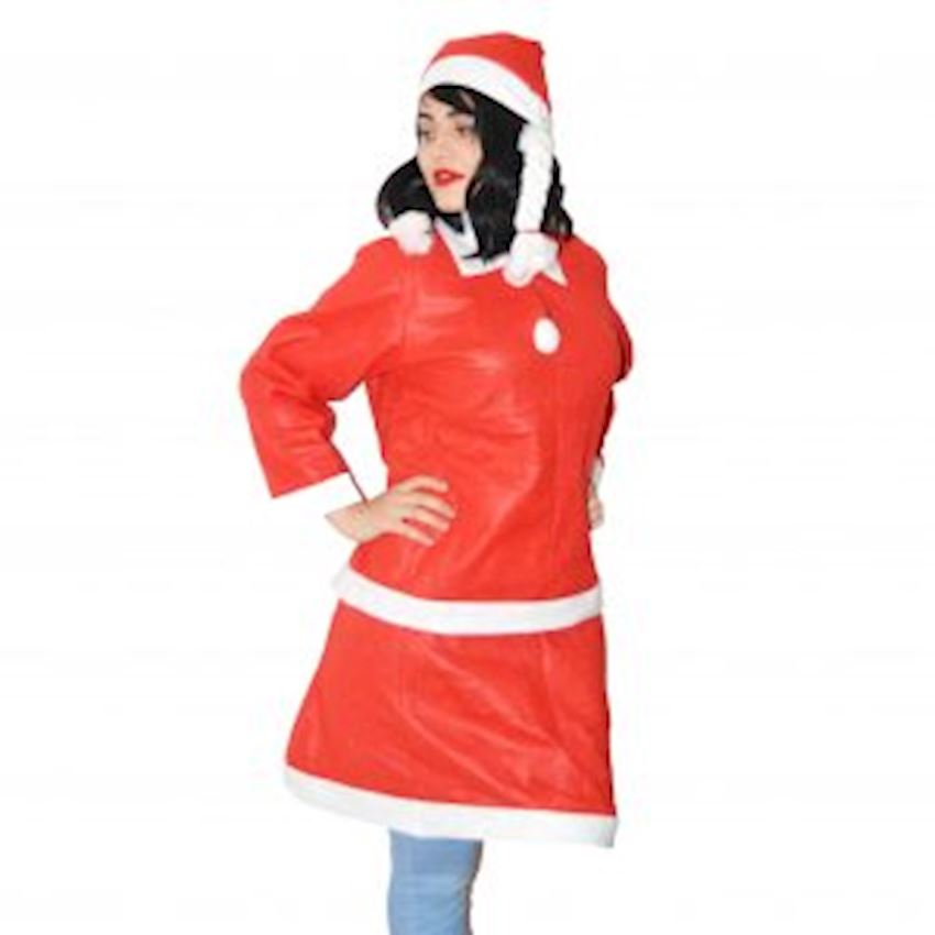 Mrs. Santa Claus Outfit Christmas Decoration Supplies