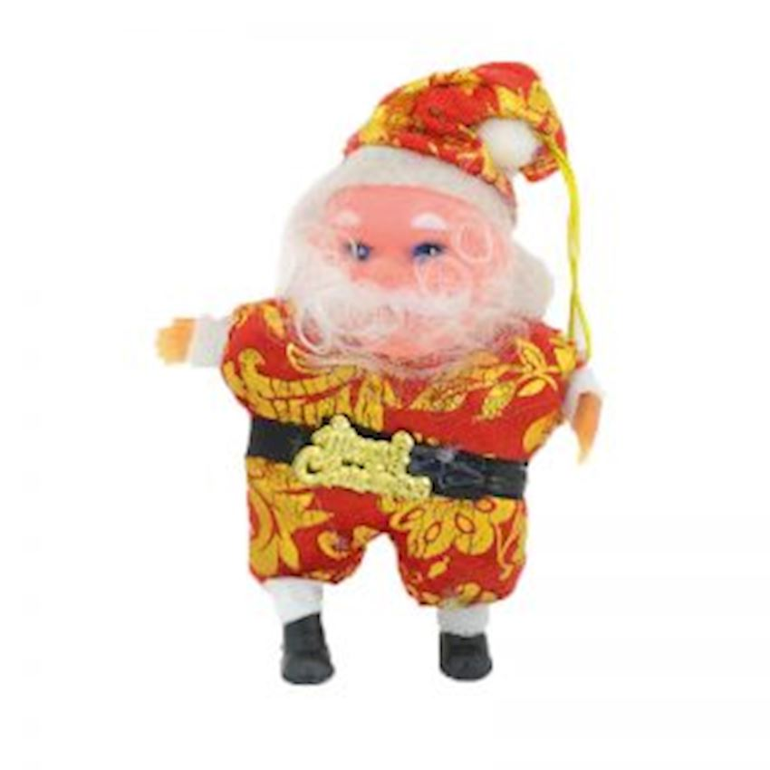 Music Santa Claus Christmas Tree Decoration 12cm Christmas Decoration Supplies